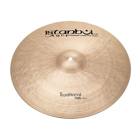 "ISTANBUL 17"" Traditional Thin Crash symbaali"