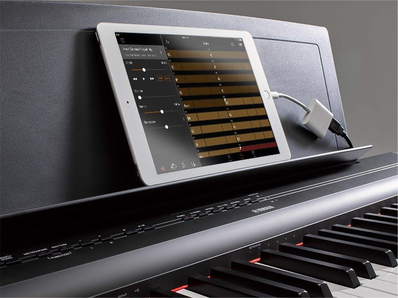 yamaha p125b digitaalipiano tammer piano ja soitin. Black Bedroom Furniture Sets. Home Design Ideas