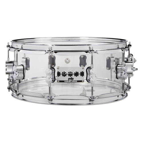 "DW PDP Chad Smith 14""x6"" Akryylivirveli"