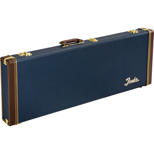 Fender Classic Wood Case, Strat/Tele Navy Blue